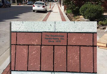 Chamber of Commerce Brick Sales