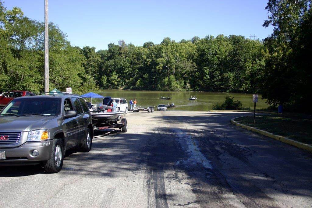 Boat Ramp at Cloverport