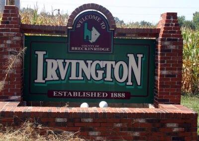Irvington Sign